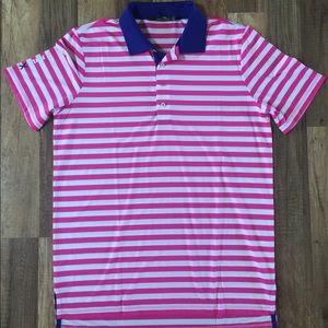 Mens RALPH LAUREN Polo Golf Shirt - MEDIUM